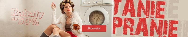 BDsklep: do 50% rabatu na suszarki do prania oraz produkty do prania, płukania, odplamiania