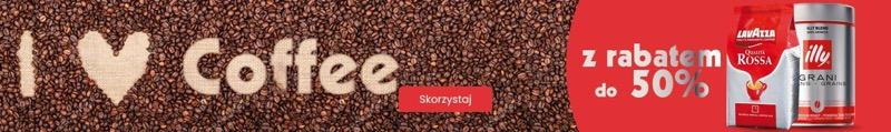 BDsklep: do 50% rabatu na akcesoria do kawy oraz kawy ziarniste, mielone, rozpuszczalne, w kapsułkach