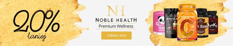 BDsklep: 20% zniżki na suplementy diety Noble Health