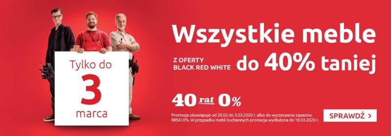 Black Red White: do 40% rabatu na wszystkie meble
