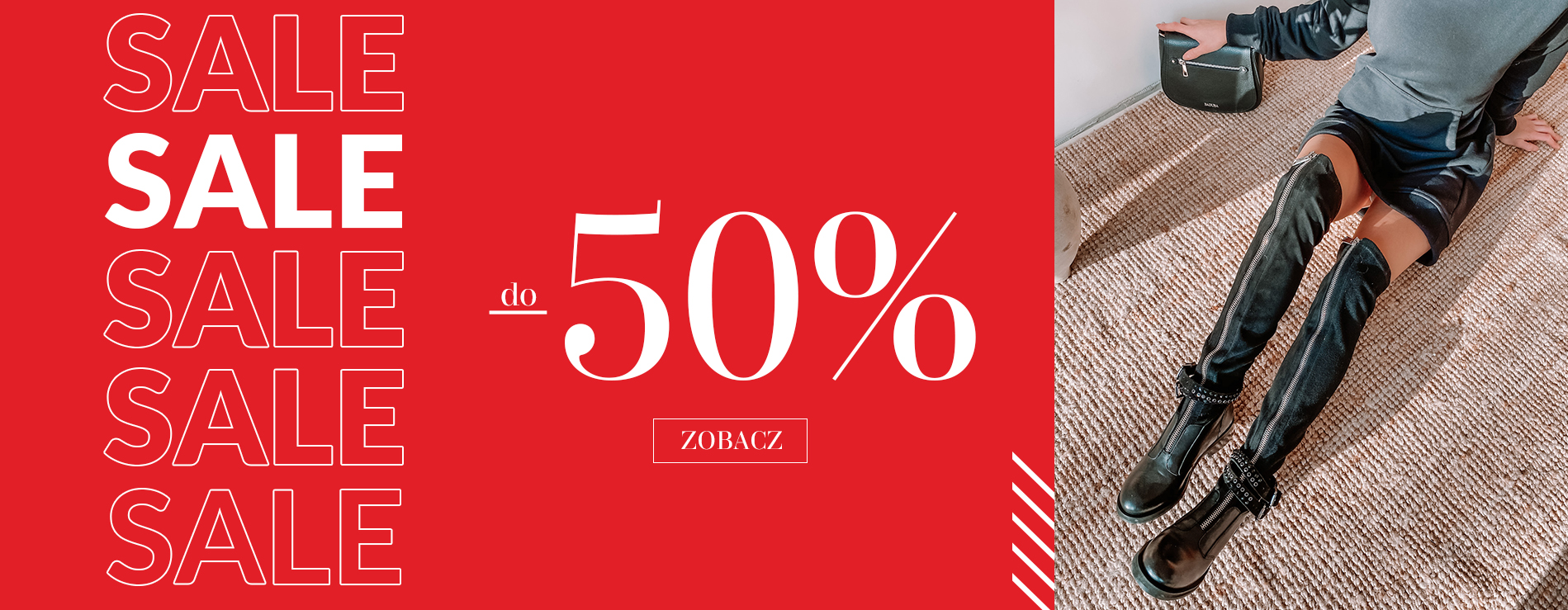 Badura Badura: wyprzedaż do 50% rabatu na modne buty damskie i męskie oraz torebki