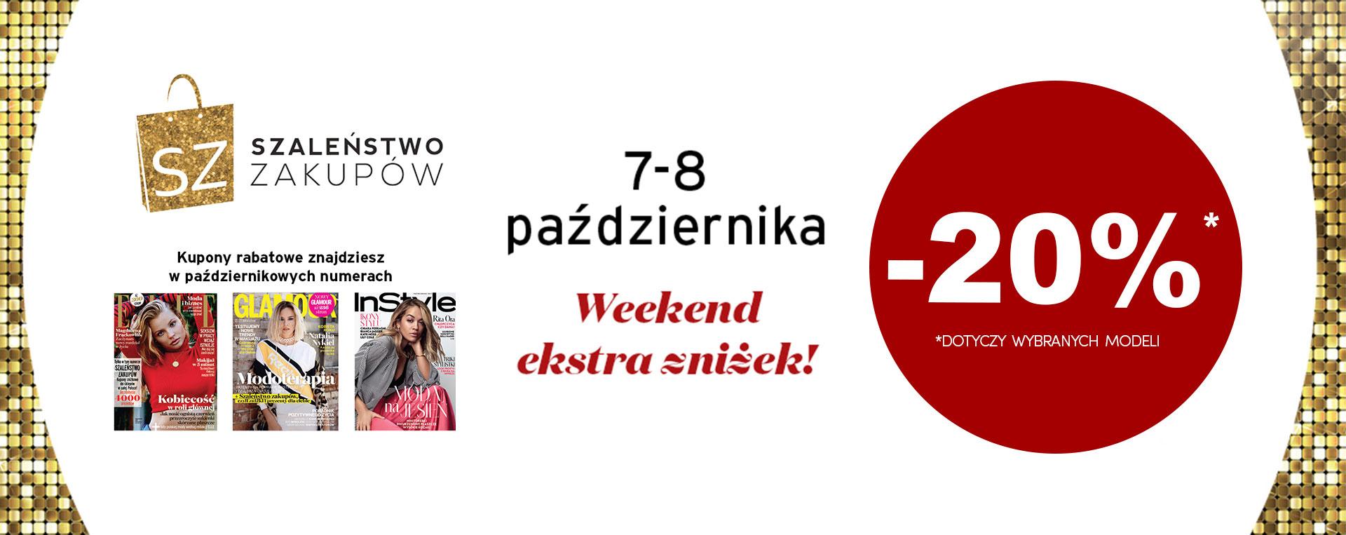 Badura: weekend zniżek 20% rabatu na wybrane modele obuwia z kolekcji jesień–zima 2017/2018