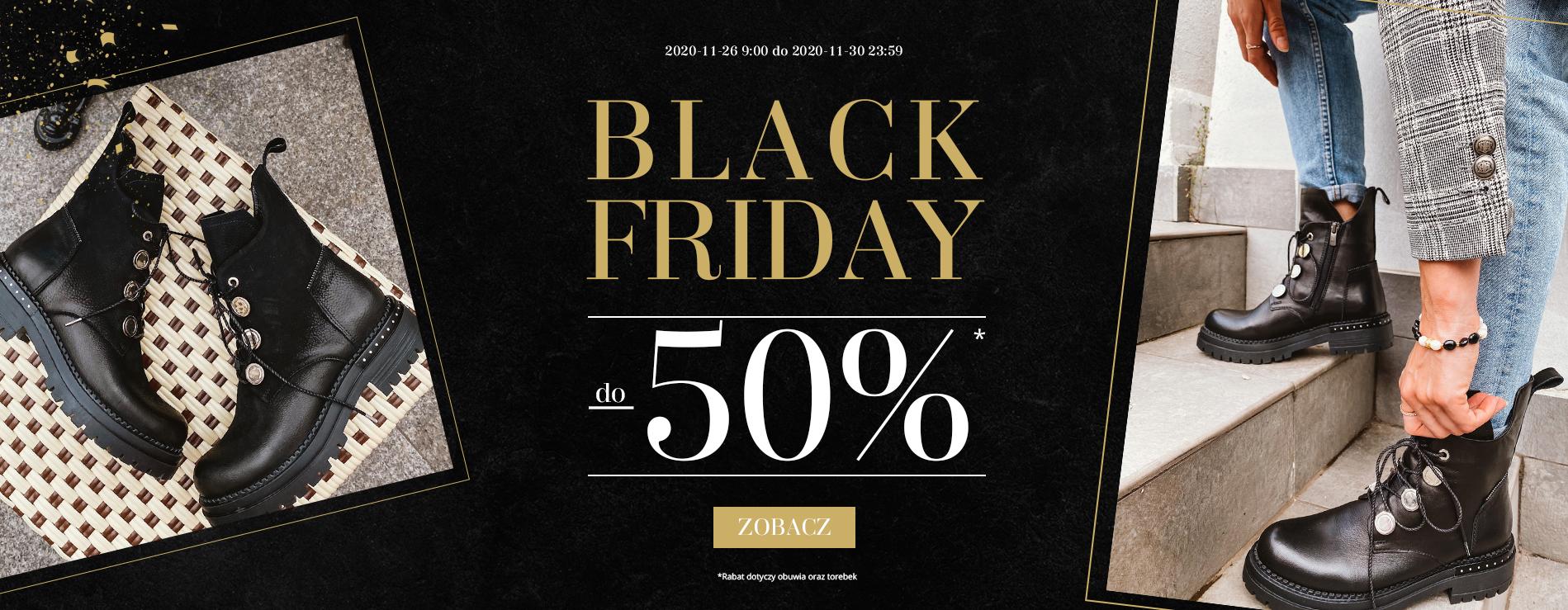 Badura: Black Friday do 50% zniżki na obuwie damskie i męskie oraz torebki