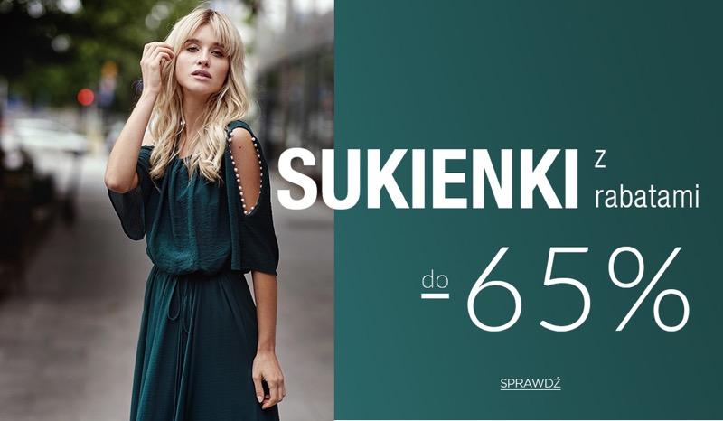 Balladine: do 65% rabatu na sukienki damskie