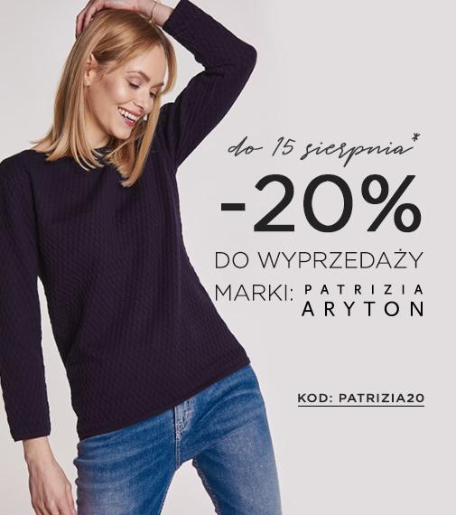 Balladine: 20% zniżki na wyprzedaż odzieży damskiej marki Patrizia Aryton