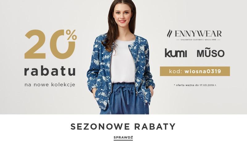 Balladine: 20% zniżki na nową kolekcję odzieży damskiej