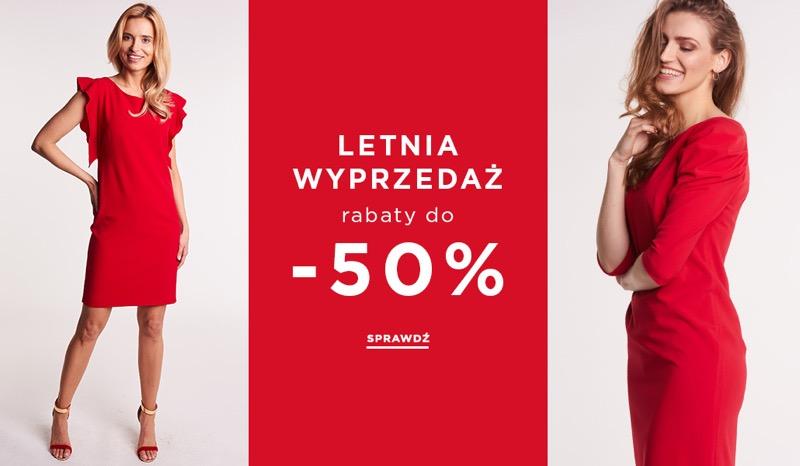 Balladine: letnia wyprzedaż do 50% rabatu na odzież damską