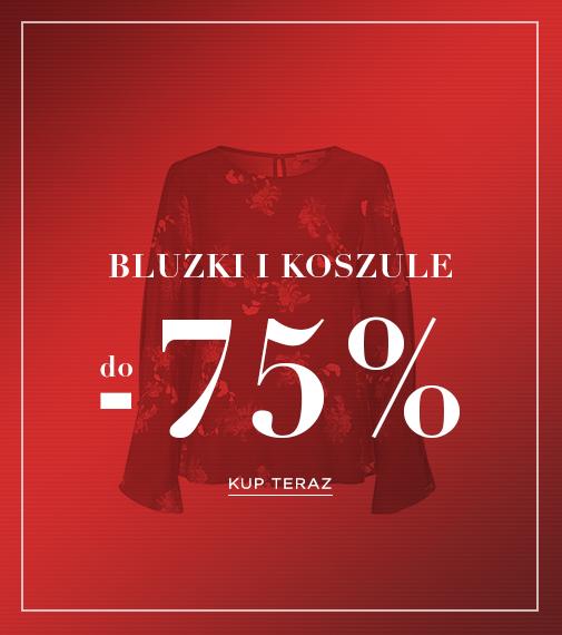 Balladine: do 75% rabatu na bluzki i koszule damskie