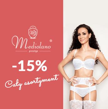 Bardotti: 15% rabatu na cały asortyment bielizny Mediolano