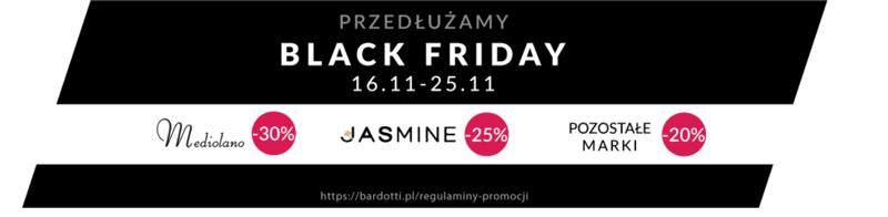 Black Friday Bardotti: do 30% zniżki na bieliznę Mediolano, Jasmine i pozostałe marki