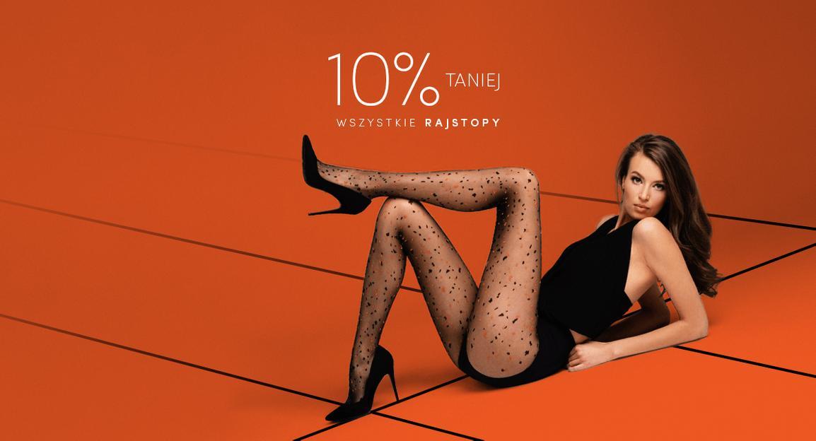Bardotti: 10% rabatu na wszystkie rajstopy