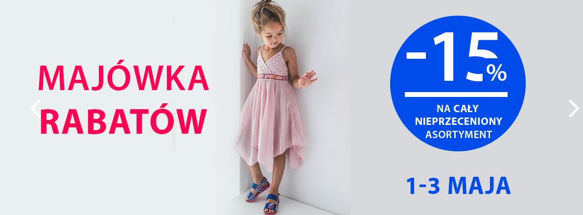 Bartek: 15% zniżki na cały nieprzeceniony asortyment obuwia dla dzieci