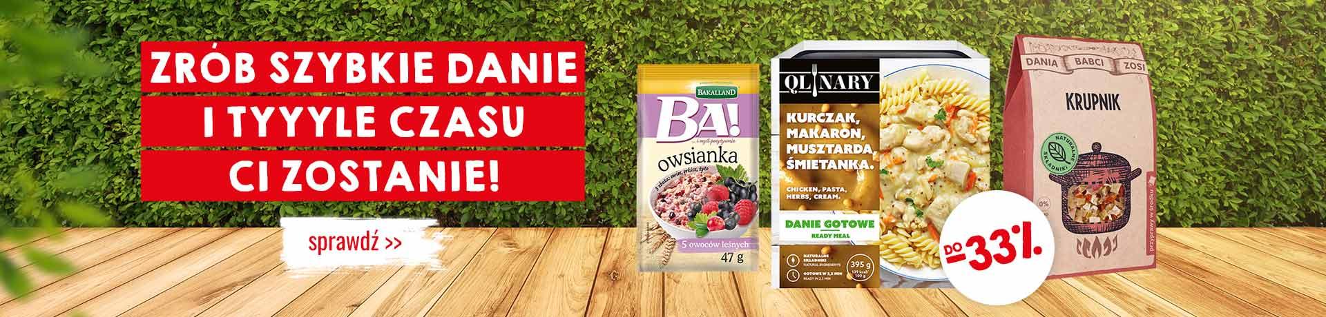 Bee.pl Bee.pl: do 33% zniżki na produkty spożywcze na szybkie dania