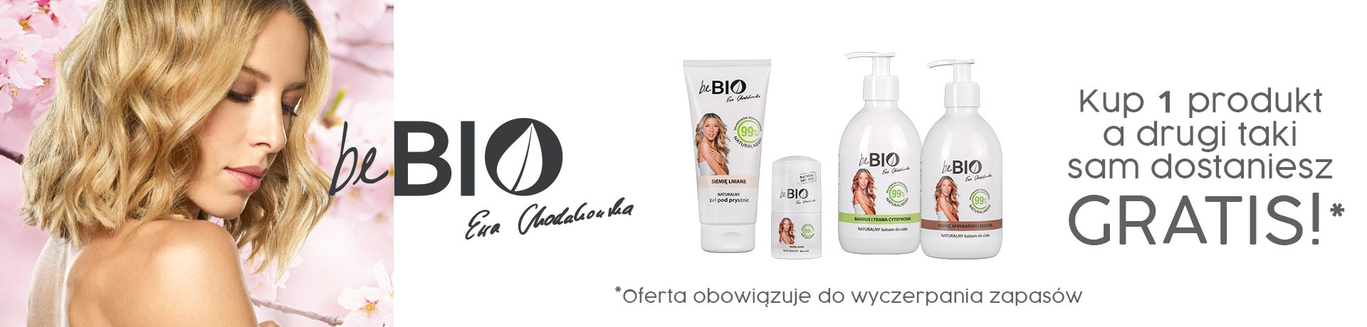 Bee.pl: kup jeden kosmetyk marki beBio, a drugi taki sam otrzymasz Gratis