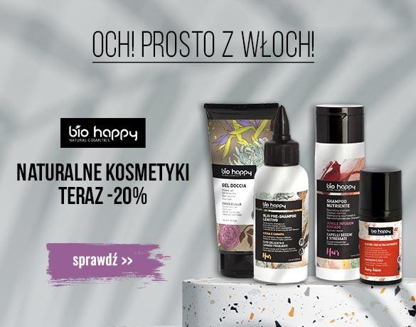 Bee.pl: 20% zniżki na naturalne kosmetyki do pielęgnacji włosów, twarzy i ciała marki Bio Happy
