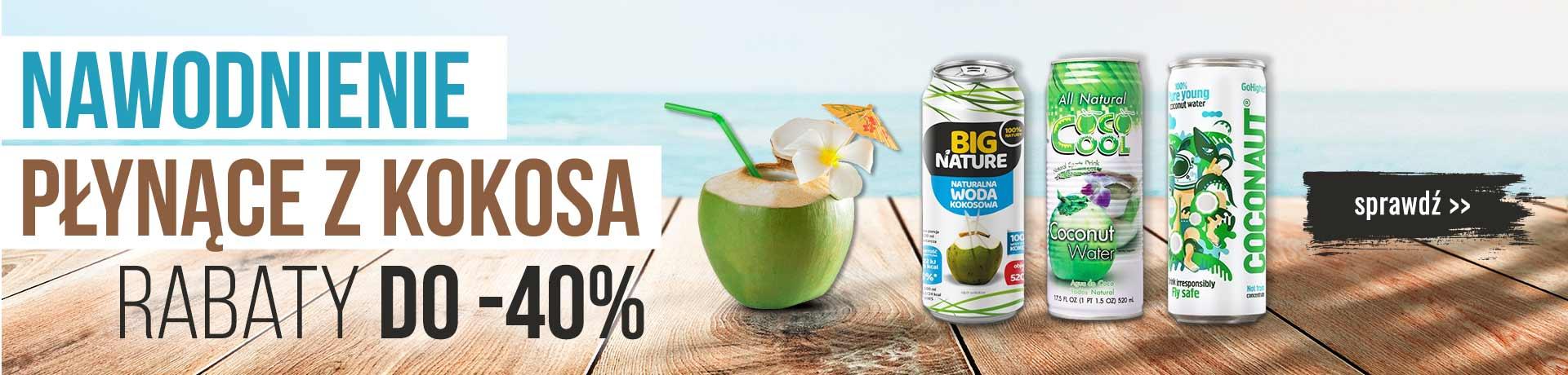 Bee.pl: do 40% zniżki na napoje kokosowe