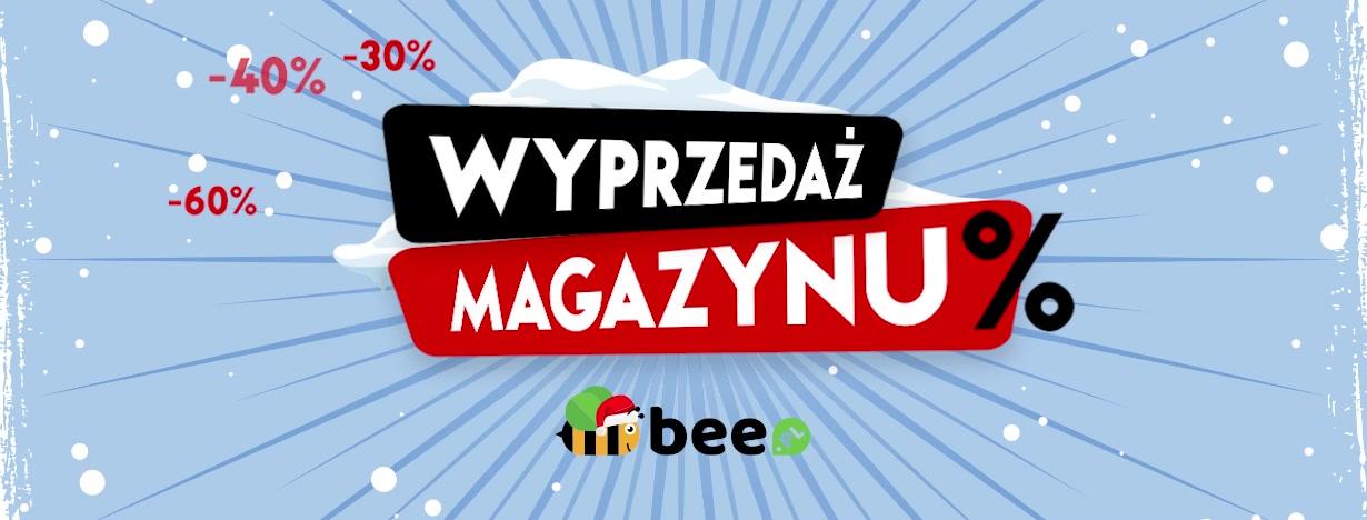 Bee.pl: wyprzedaż do 60% zniżki na artykuły spożywcze, kosmetyki, produkty dla dzieci