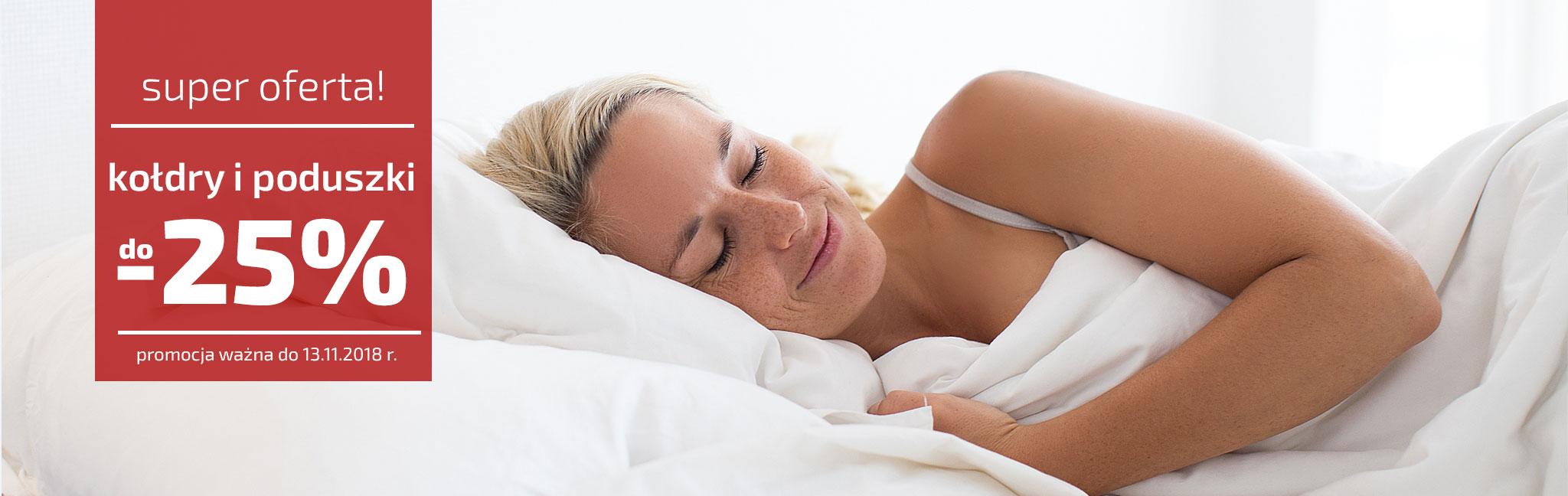 Bella Storia: do 25% zniżki na kołdry i poduszki
