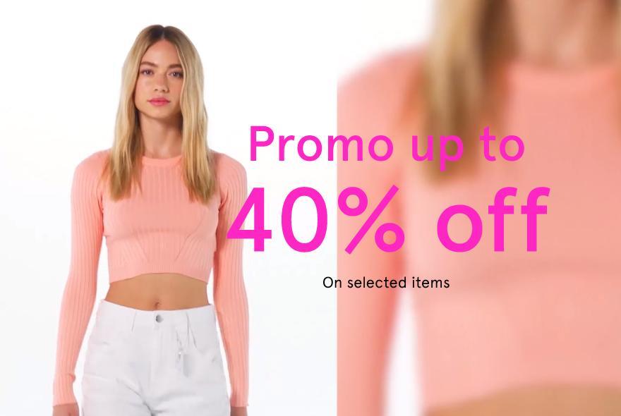 Bershka: wyprzedaż do 40% zniżki na odzież damską oraz męską