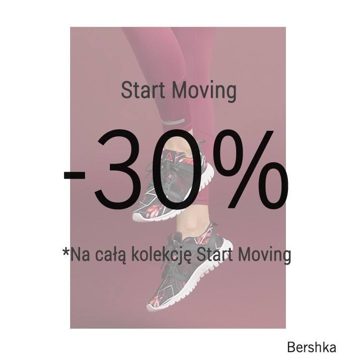 Bershka: 30% zniżki na kolekcję Start Moving