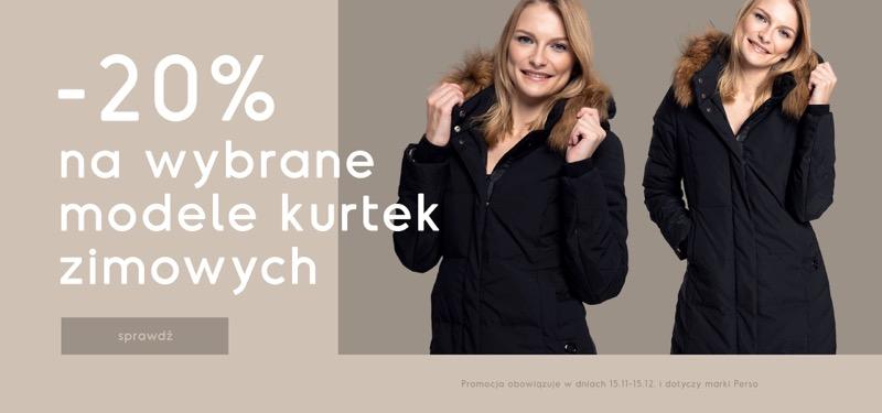 Bialcon: 20% rabatu na wybrane modele kurtek zimowych