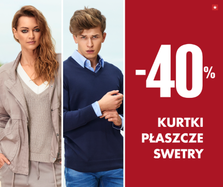 Big Star: 40% zniżki na swetry, kurtki oraz płaszcze