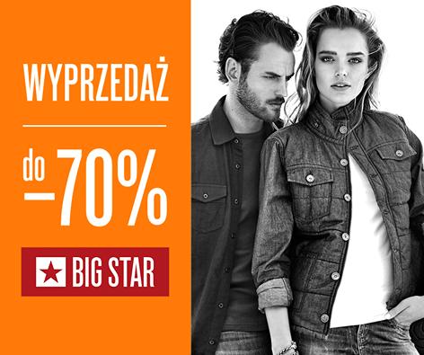 Big Star: wyprzedaż do 70%