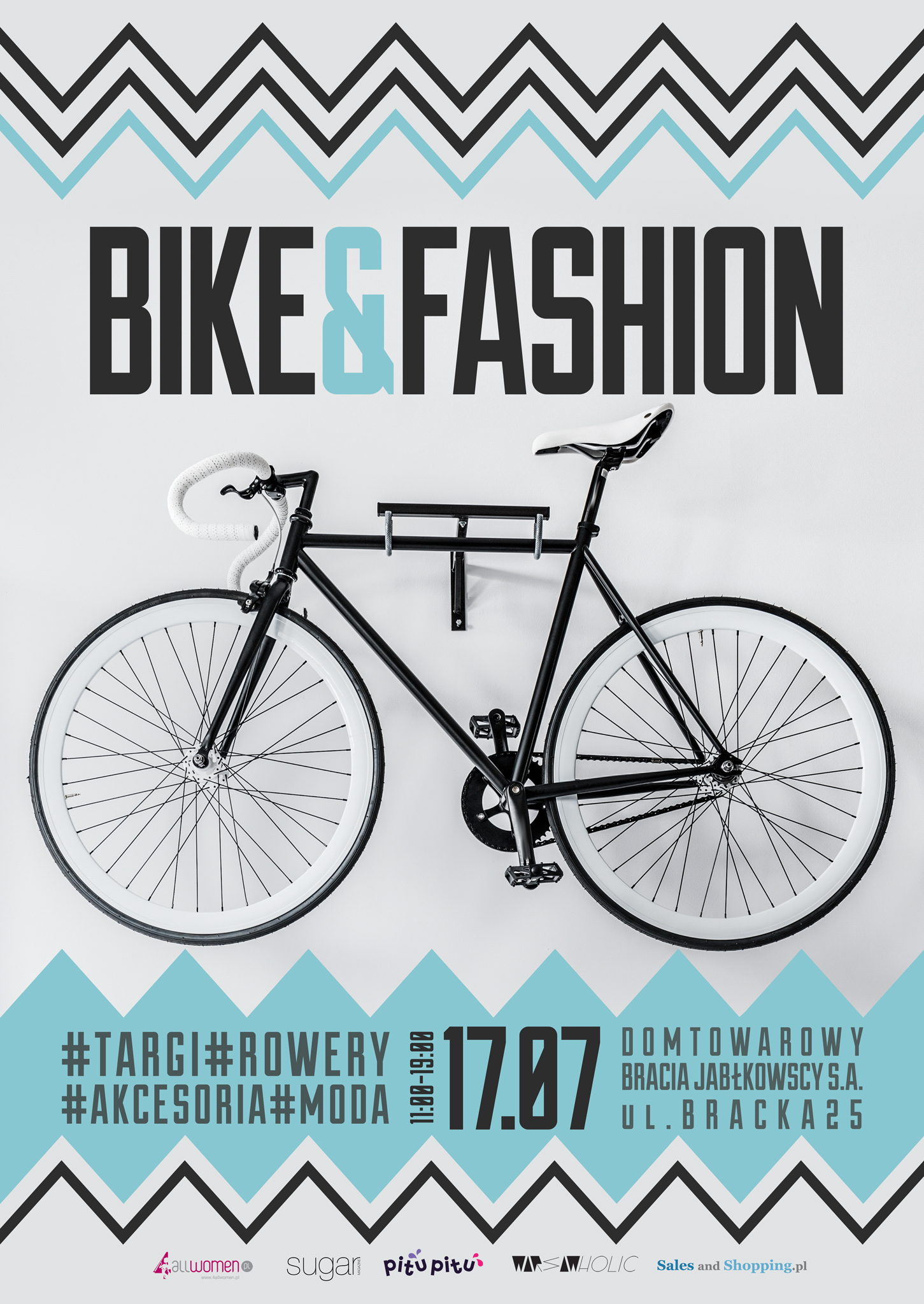 Targi Rowerowo-Modowe Bike & Fashion in Warsaw 17 lipca 2016