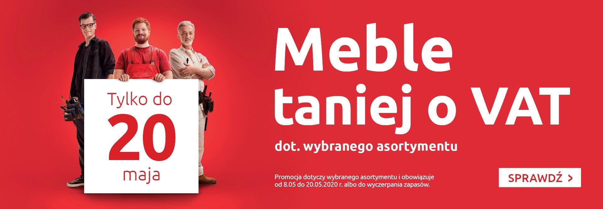 Black Red White: meble taniej o VAT