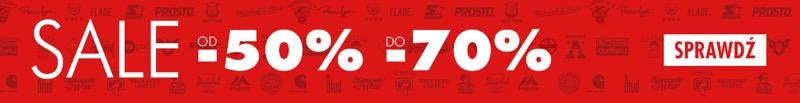 Bludshop: wyprzedaż do 70% rabatu na buty i odzież streetwear