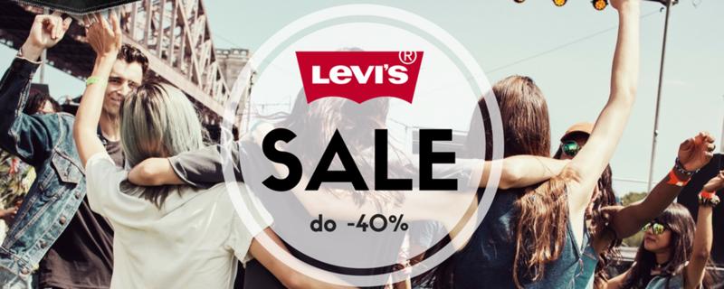Bluestilo: wyprzedaż do 40% rabatu na jeansy, koszulki i koszule marki Levi's