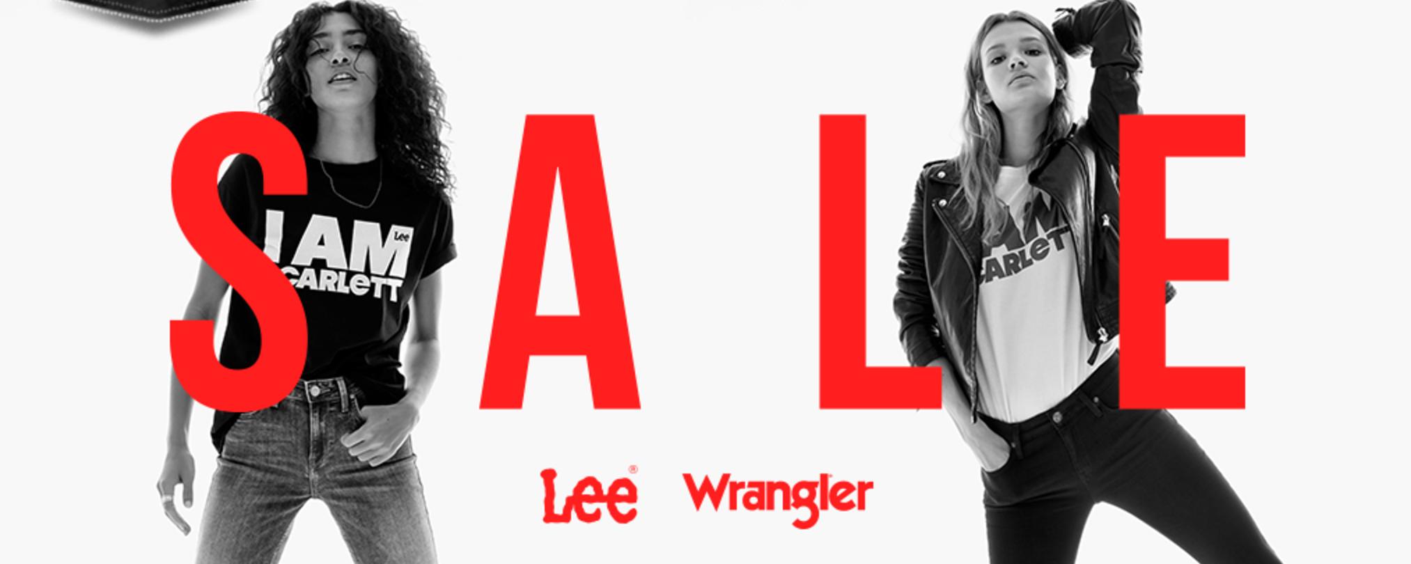 Bluestilo: wyprzedaż do 50% zniżki na jeansy, buty i koszulki marek Lee i Wrangler                         title=