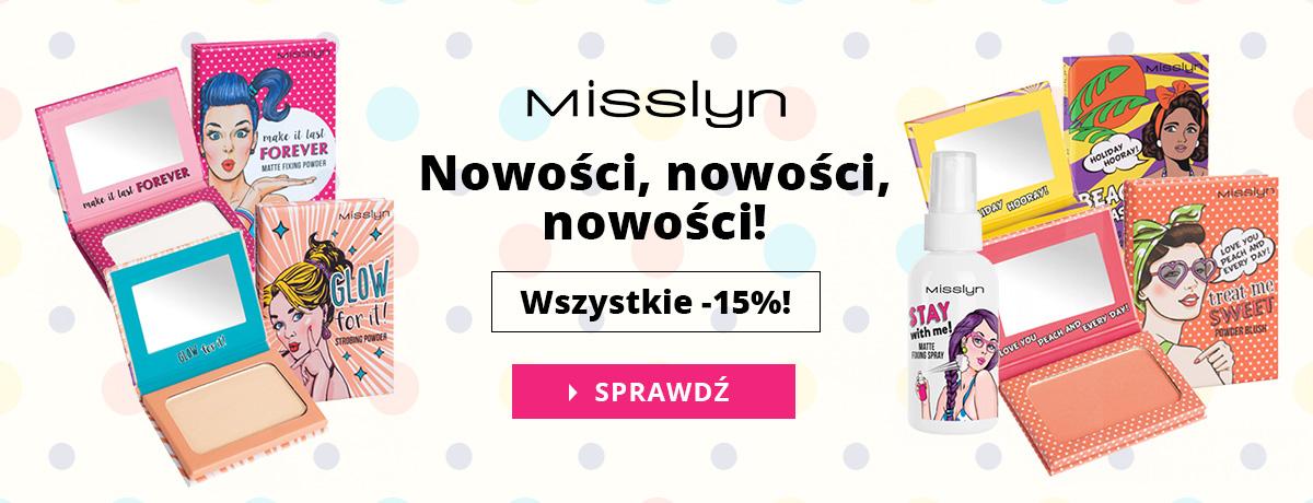 Bodyland: 15% rabatu na nowości marki Misslyn                         title=