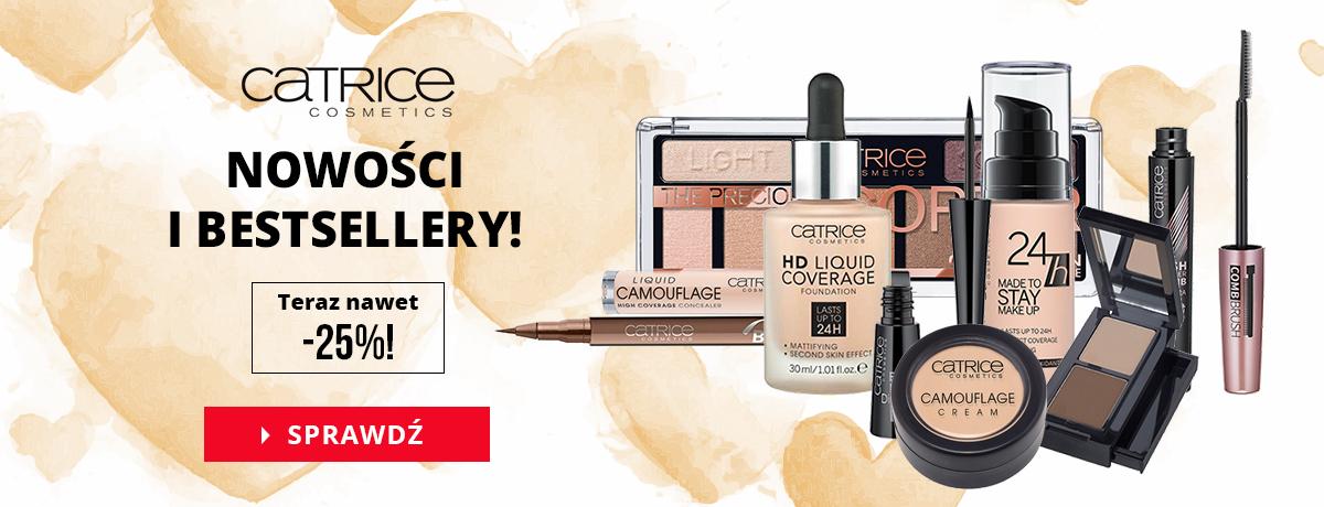 Bodyland: do 25% zniżki na nowości i bestsellery marki Catrice Cosmetics                         title=