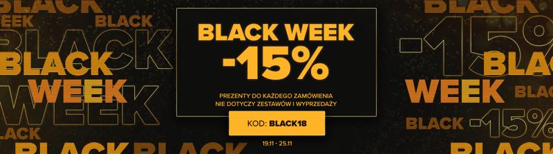 Black Week Bodypak: 15% rabatu na odżywki i suplementy diety