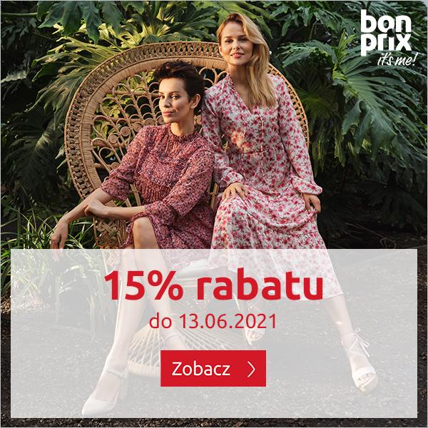 Bon Prix: 15% zniżki na odzież damską, męską oraz dziecięcą