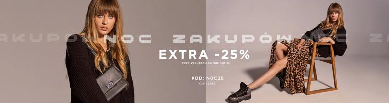 Born2be: Noc Zakupów extra 25% rabatu na odzież damską, męską i dziecięcą