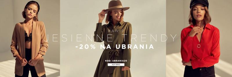 Born2be: 20% rabatu na ubrania damskie, męskie i dziecięce