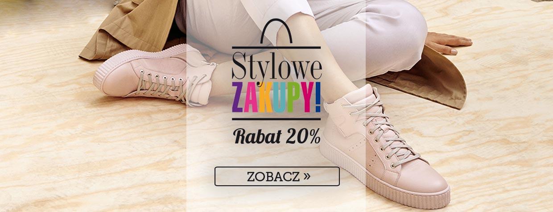 But Sklep: 20% zniżki na nieprzecenione modele obuwia