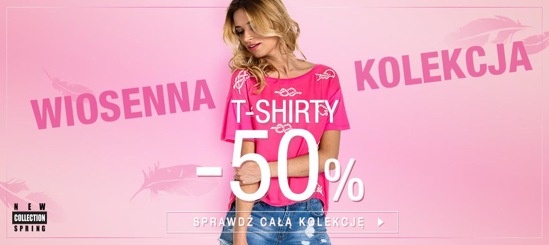 Butik: 50% zniżki na wiosenną kolekcję t-shirtów