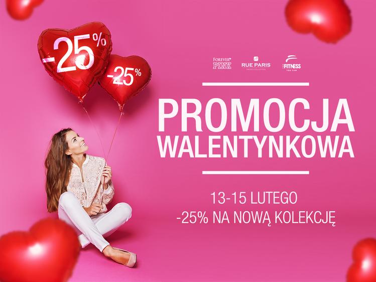 Butik: 25% zniżki na nową kolekcję z okazji Walentynek
