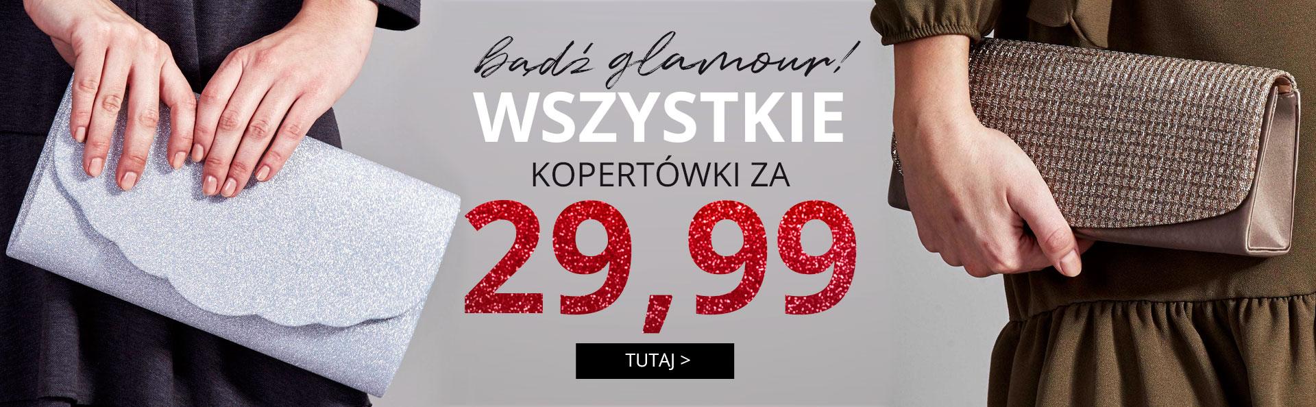 Butik: wszystkie kopertówki za 29,99 zł                         title=