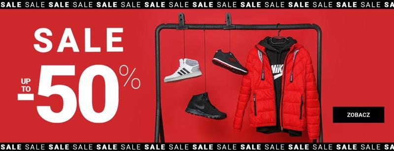 Reebok: wyprzedaż do 50% rabatu na odzież, obuwie oraz