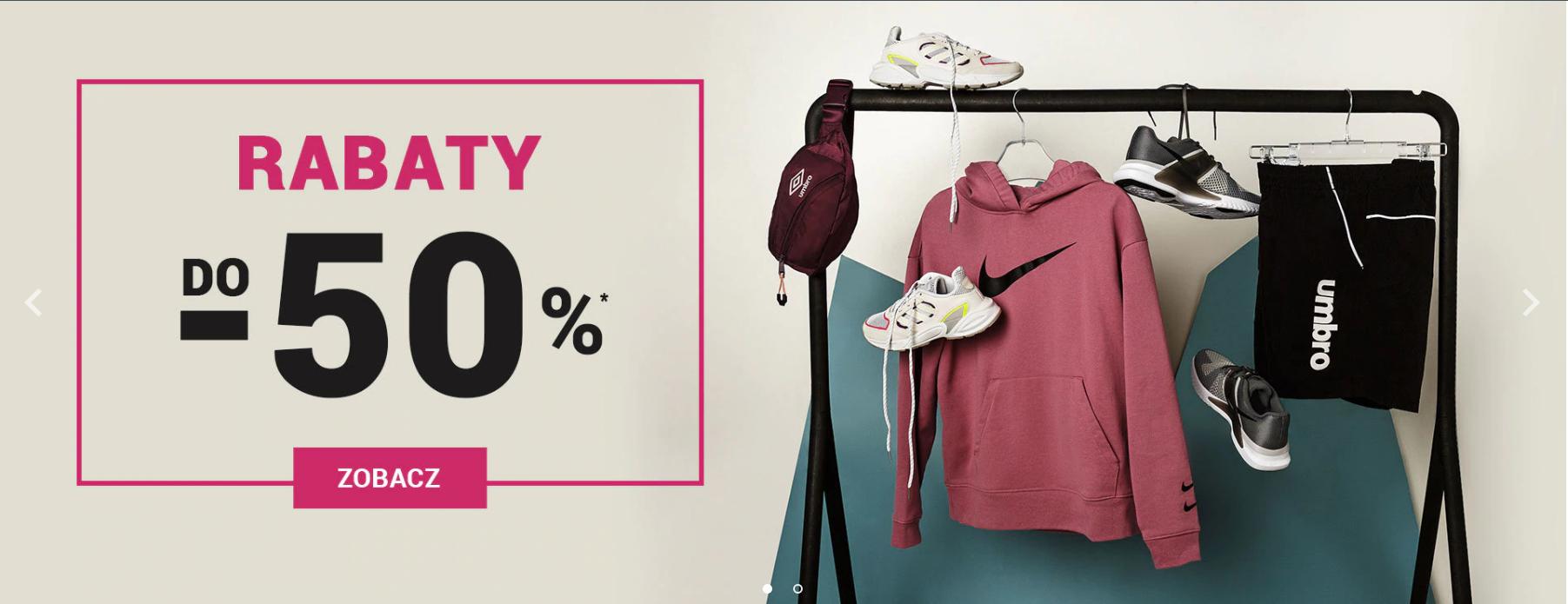 ButySportowe.pl: wyprzedaż do 50% rabatu na sneakersy, odzież i akcesoria Nike, Adidas, Converse, Vans, Puma, Reebok                         title=