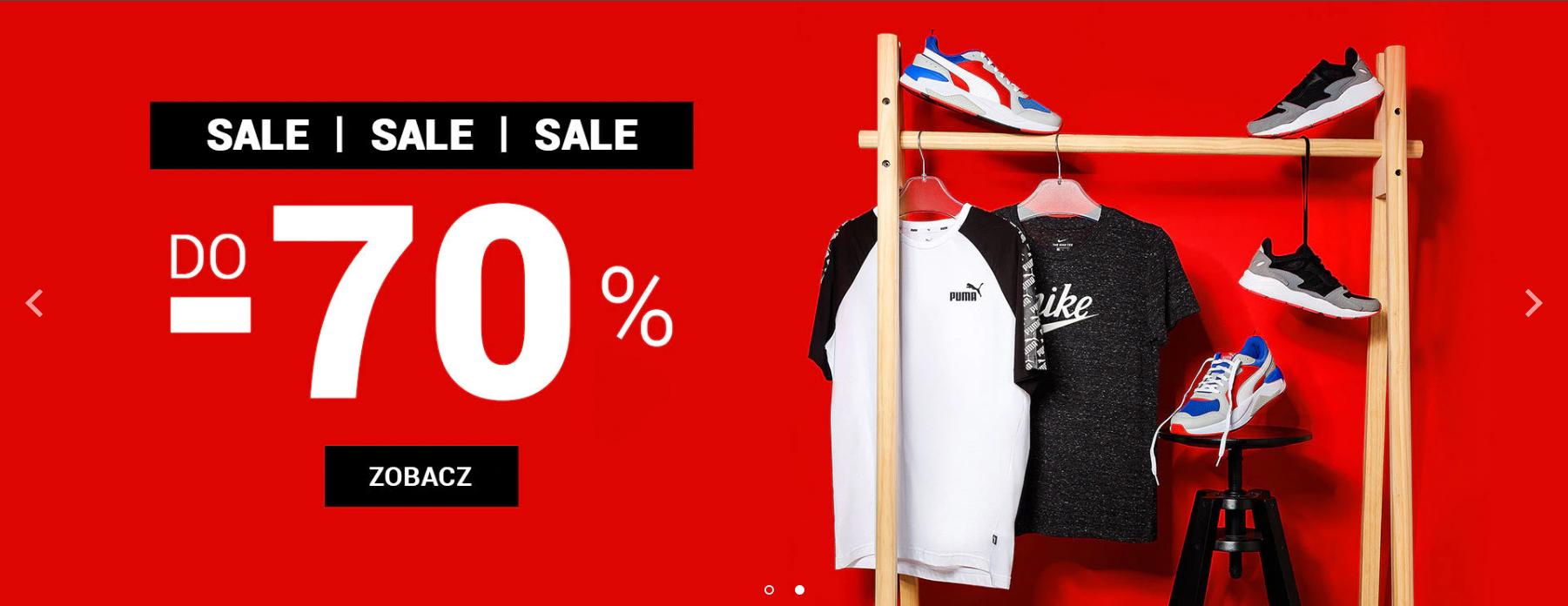 ButySportowe.pl: wyprzedaż do 70% rabatu na odzież i obuwie sportowe                         title=