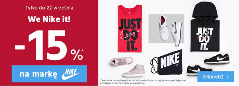 Nike promocje zniżki na buty sportowe