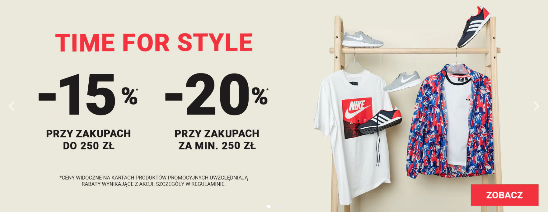 ButySportowe.pl: do 20% rabatu na buty i ubrania sportowe