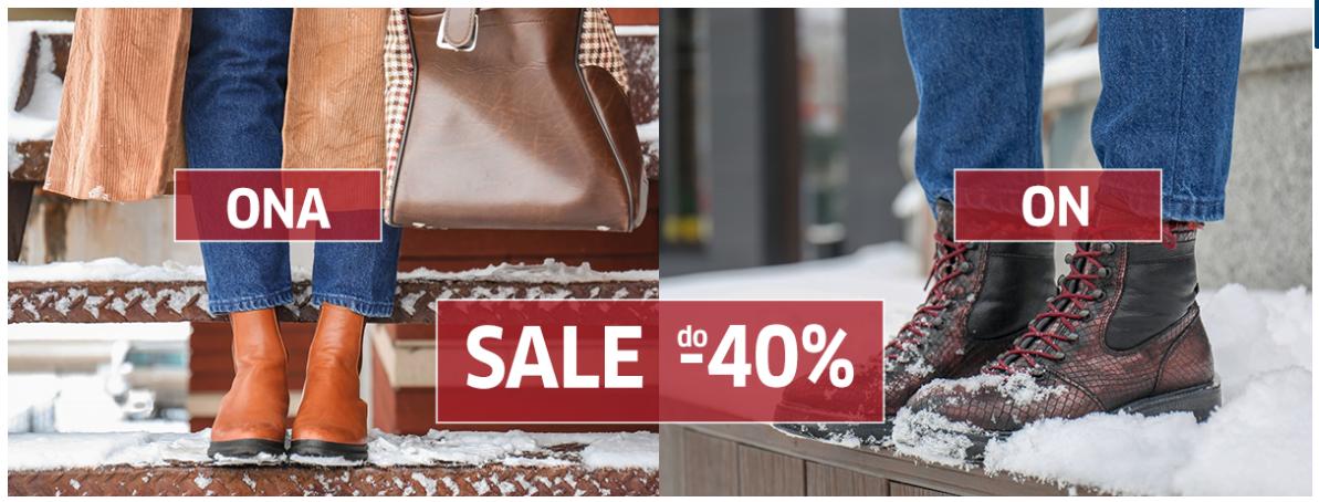 Buty XL: wyprzedaż do 40% rabatu na obuwie dla niej i dla niego