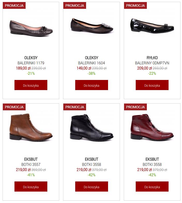 Buty XL: do 50% zniżki na obuwie damskie, męskie
