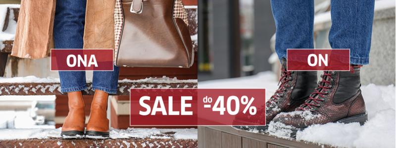 Buty XL: wyprzedaż do 40% rabatu na buty damskie i męskie